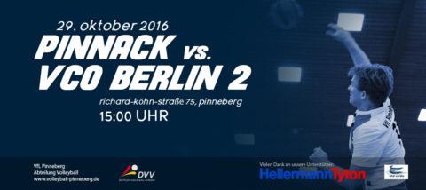 Pinnack vs VCO Berlin 2 29.10.2016