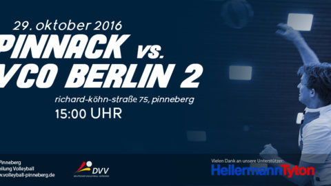 Pinnack vs VCO Berlin 2 29.10.2016
