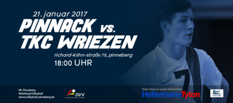 Pinnack vs Wriezen 21.01.2017