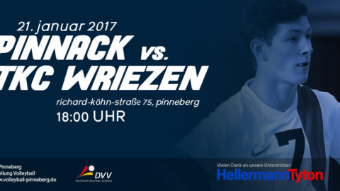 Pinnack vs Wriezen 21.01.2017